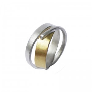 """Wickelring """"Wind"""" Silber, 750/000 Gold, ab 180€"""