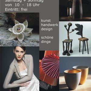Schmuck aus meiner Goldschmiede bei Design&Gestaltung in Mainz