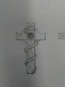Skizze Keltenkreuz